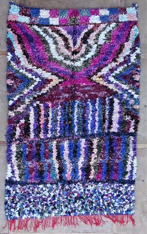 BOUCHEROUITE Collector Boucherouite moroccan rugs TC49046