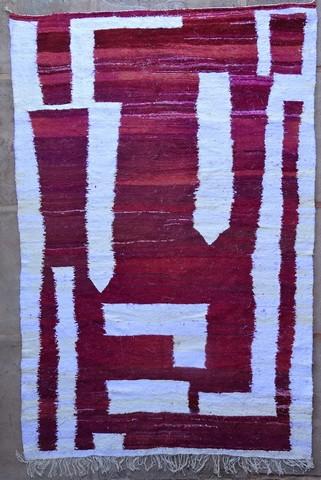 BOUCHEROUITE-KILIMS Boucherouite Large moroccan rugs KC49047 kilim