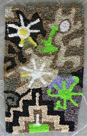 Berber rug ZK49024 Zindek