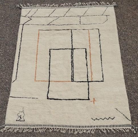 WOOL Rugs - BENI OURAIN Beni Ourain moroccan rugs BO49101