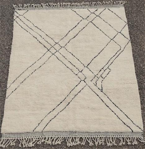 BENI OURAIN-WOOL RUGS Beni Ourain moroccan rugs BO49102