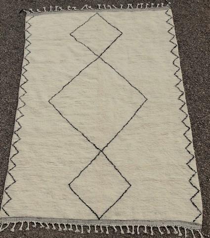 BENI OURAIN-WOOL RUGS Beni Ourain moroccan rugs BO49104
