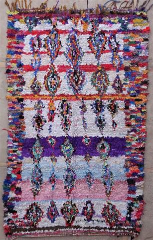 Berber rug L49058