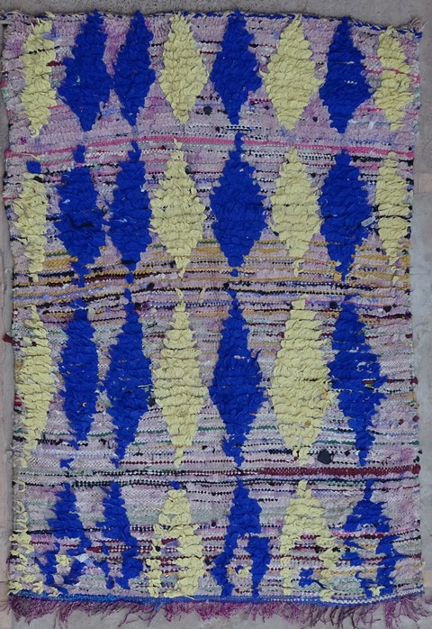 BOUCHEROUITE Boucherouite Medium moroccan rugs T38272