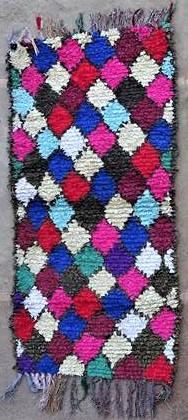 BOUCHEROUITE Boucherouite Medium moroccan rugs T47029