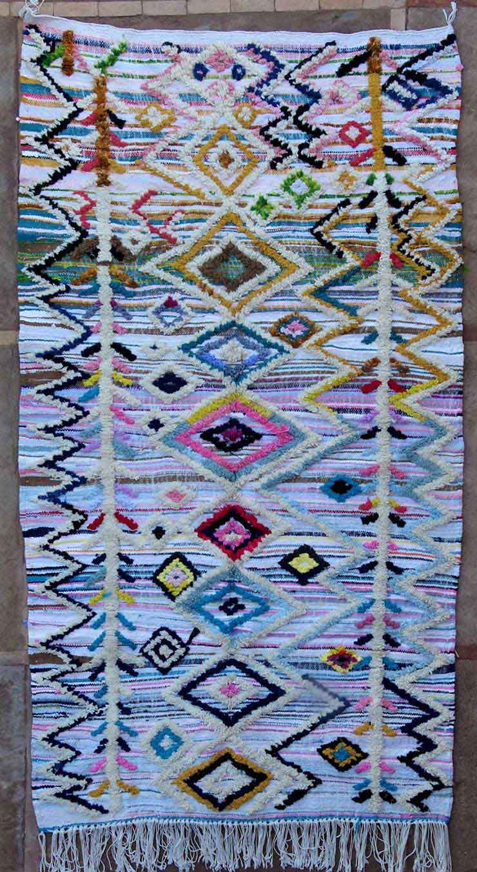 AZILAL-ZANAFI Azilal teppiche Teppich AZK49122