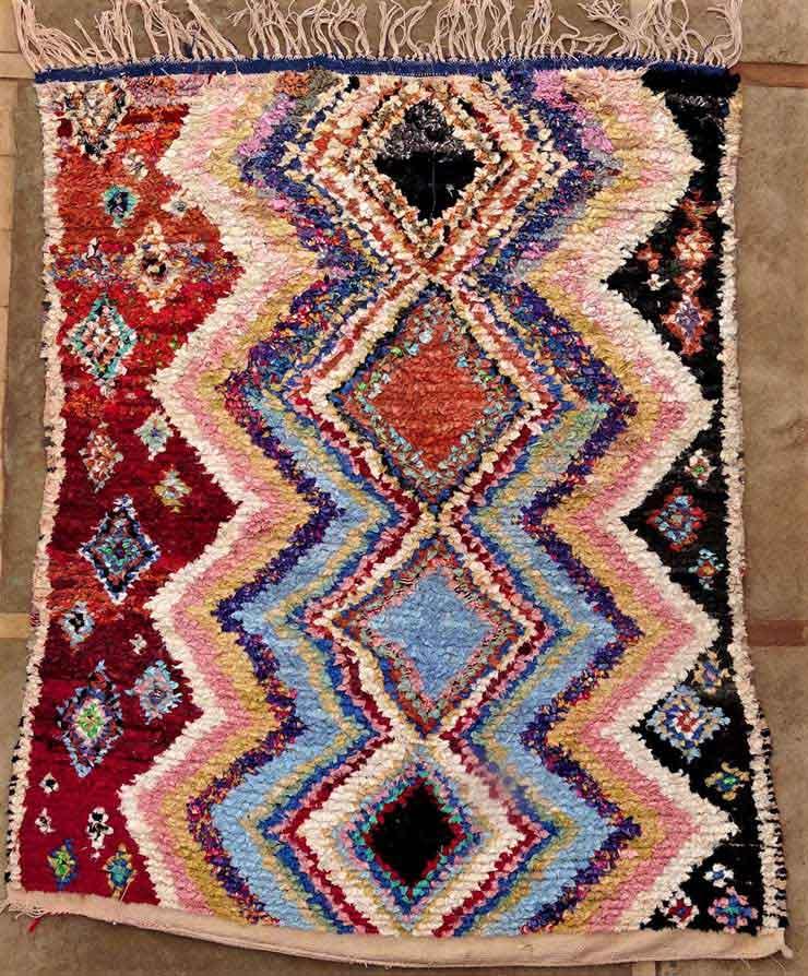 BOUCHEROUITE Boucherouite Medium moroccan rugs TC49141