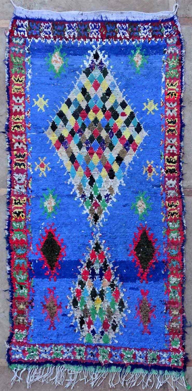 BOUCHEROUITE Boucherouite Medium moroccan rugs T49161