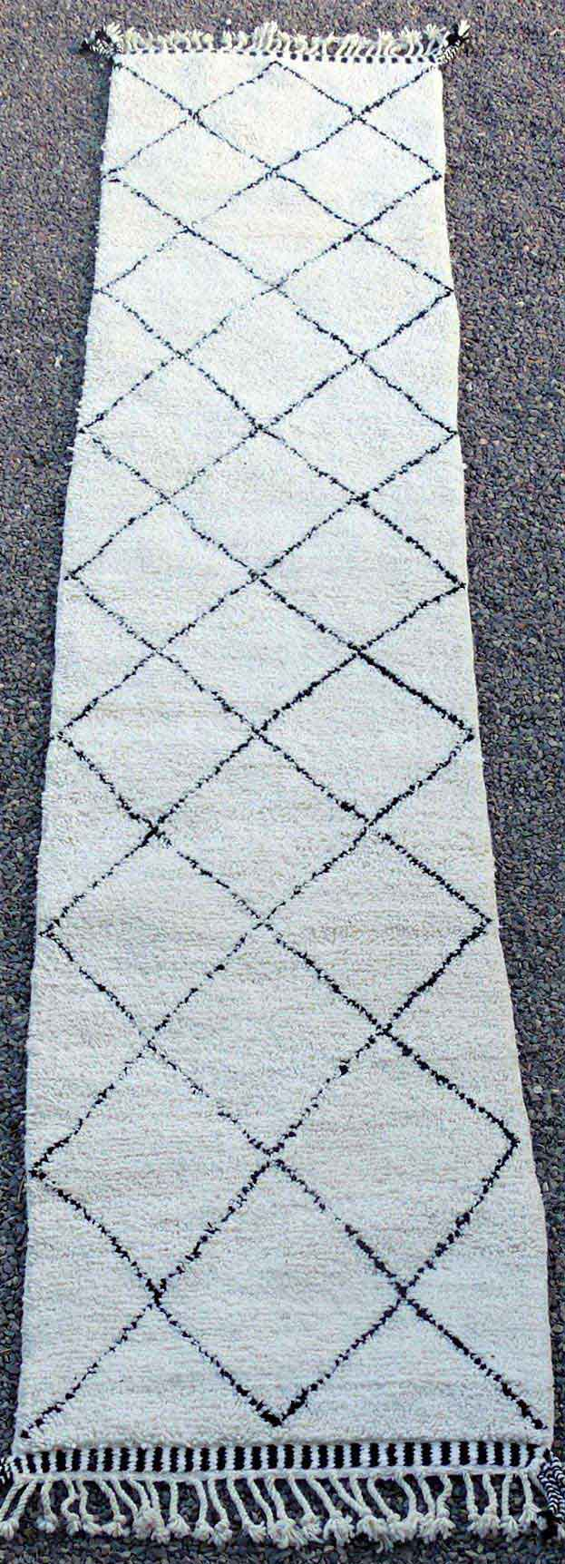 BENI OURAIN-WOOL RUGS Beni Ourain Large sizes ref : BO49179/MA