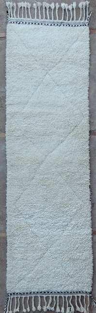 WOOL Rugs - BENI OURAIN Hallway runner rugs moroccan rugs BO49204/MA