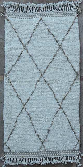 BENI OURAIN-WOOL RUGS Beni Ourain moroccan rugs BO49212/MA