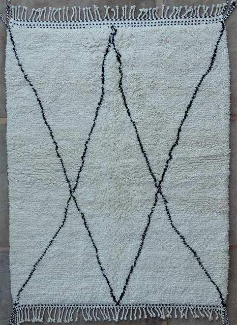 WOOL Rugs - BENI OURAIN Beni Ourain moroccan rugs BO49215/MA