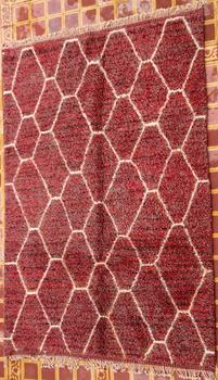 BENI OURAIN-WOOL RUGS Beni Ourain Large sizes ref : BO30494