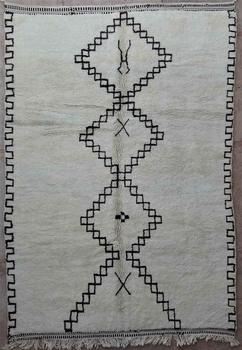 BENI OURAIN-WOLLTEPPICHE Beni Ourain Teppich BO34211