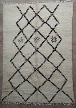 WOOL Rugs - BENI OURAIN Beni Ourain moroccan rugs BO40062