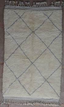 WOOL Rugs - BENI OURAIN Beni Ourain moroccan rugs BO40115