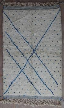 BENI OURAIN-WOOL RUGS Beni Ourain moroccan rugs BO40133