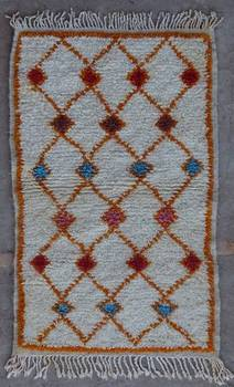 WOOL Rugs - BENI OURAIN Azilal rugs moroccan rugs 42252
