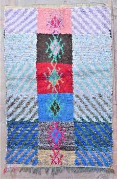 BOUCHEROUITE Boucherouite Medium moroccan rugs T37203