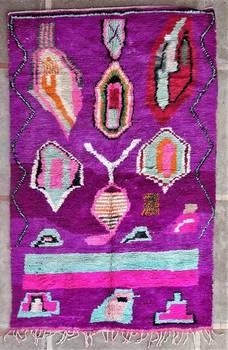 BENI OURAIN-WOOL RUGS  moroccan rugs BJ46193