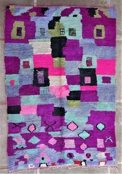 BENI OURAIN-WOOL RUGS  moroccan rugs BJ46195