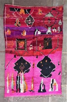 WOOL Rugs - BENI OURAIN  moroccan rugs BJ46194