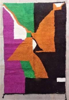 BENI OURAIN-WOOL RUGS  moroccan rugs BO47166