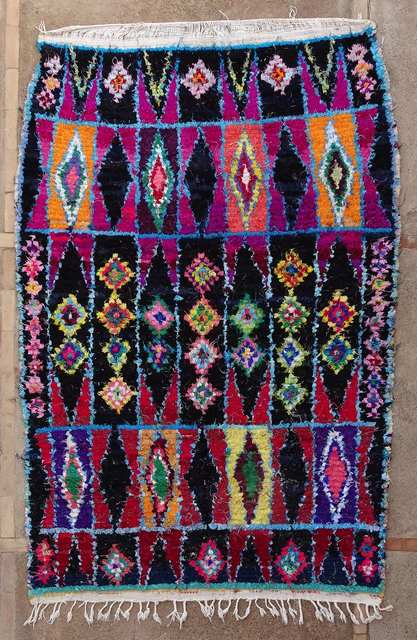 BOUCHEROUITE Boucherouite Medium moroccan rugs TC51011