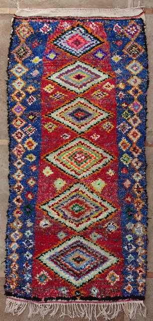 BOUCHEROUITE Boucherouite Medium moroccan rugs TC51023