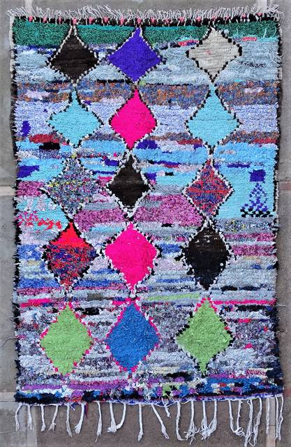 BOUCHEROUITE Boucherouite Medium moroccan rugs TC51048