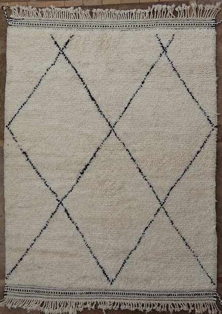 BENI OURAIN-WOOL RUGS Beni Ourain moroccan rugs BO51056