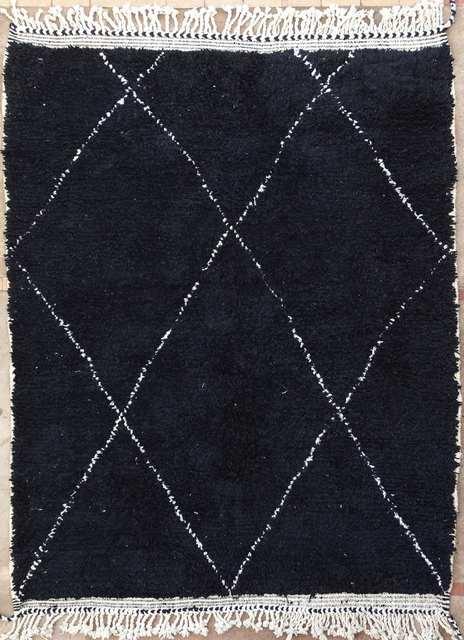 BENI OURAIN-WOOL RUGS Beni Ourain moroccan rugs BO51055