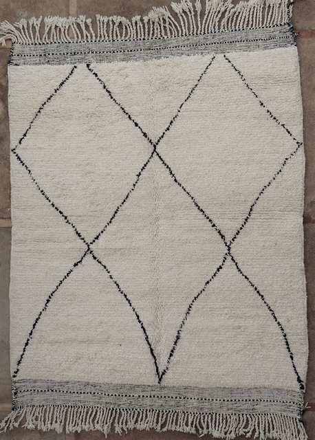 BENI OURAIN-WOOL RUGS Beni Ourain moroccan rugs BO51057