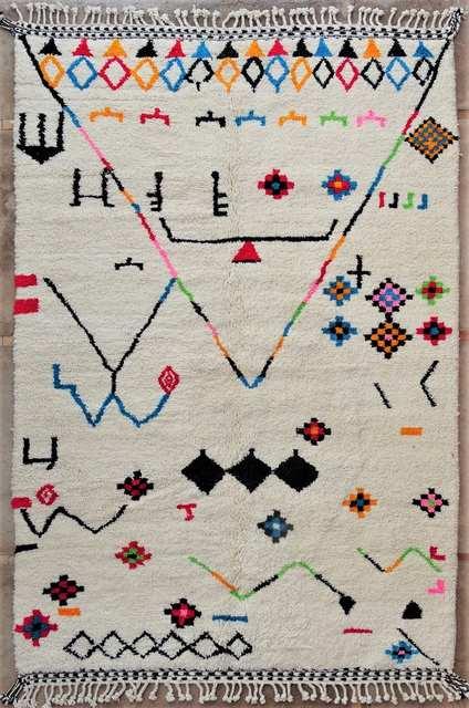 WOOL Rugs - BENI OURAIN Beni Ourain moroccan rugs BO51062