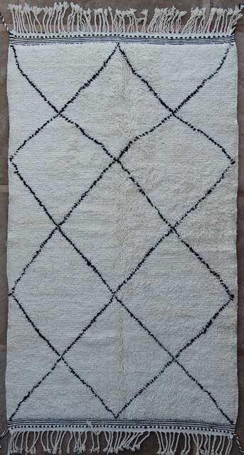 WOOL Rugs - BENI OURAIN Beni Ourain moroccan rugs BO51067