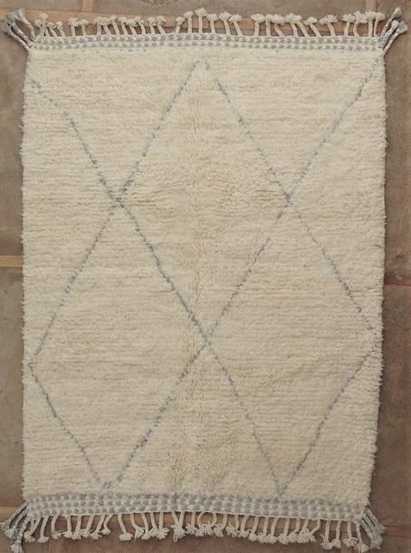 BENI OURAIN-WOOL RUGS Beni Ourain moroccan rugs BO51118