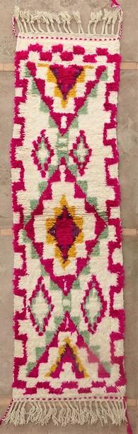 BENI OURAIN-WOLLTEPPICHE Korridor Wollteppiche Berber Teppich BO51117