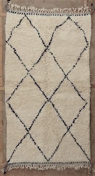 BENI OURAIN-WOOL RUGS Beni Ourain moroccan rugs BO51120