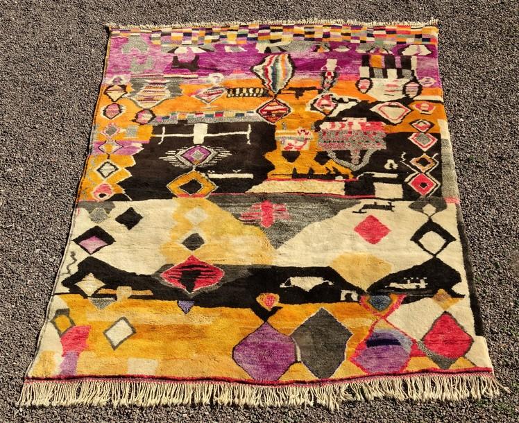 Archive-Sold Beni Ouarain moroccan rugs MR51088