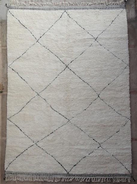 BENI OURAIN-WOOL RUGS Beni Ourain moroccan rugs BO51101