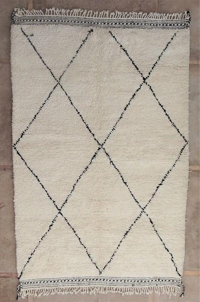 WOOL Rugs - BENI OURAIN Beni Ourain moroccan rugs BO51106