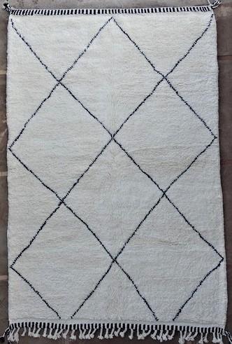 BENI OURAIN-WOOL RUGS Beni Ourain moroccan rugs BO51140