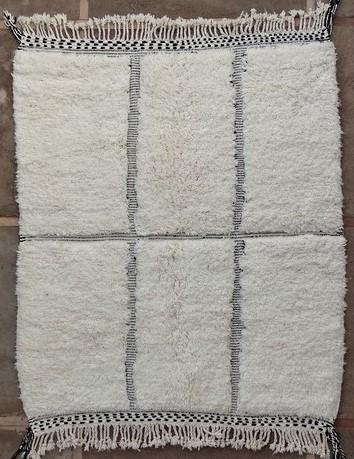 BENI OURAIN-WOOL RUGS Beni Ourain moroccan rugs BO51149