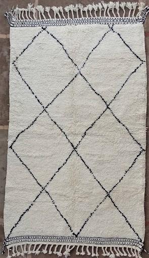 BENI OURAIN-WOLLTEPPICHE Beni Ourain Berber Teppich BO51153
