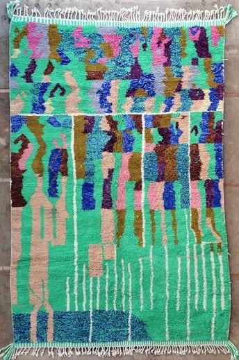 Archive-Sold Beni Ouarain moroccan rugs BO51154 PENAGUIN