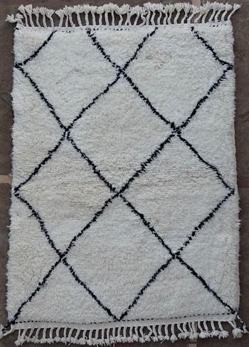 BENI OURAIN-WOOL RUGS Beni Ourain moroccan rugs BO51159