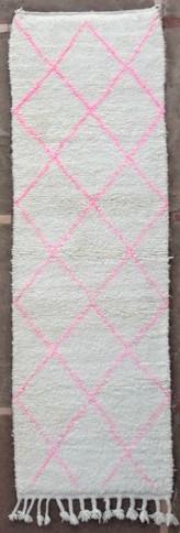 BENI OURAIN-WOOL RUGS Hallway runner wool rugs moroccan rugs BO51161