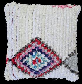 moroccan rugs Cushion  boucherouite CBO1