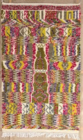 AZILAL-ZANAFI Modern design Azilal moroccan rugs AZM51239