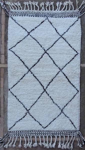 BENI OURAIN-WOOL RUGS Beni Ourain moroccan rugs BO51265